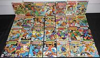 Vintage DC Silver-Copper Age FANTASTIC FOUR 28pc Mid-High Grade Comic Lot