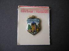 Wappen Anhänger emailliert Ahrweiler ANTIKO 100 versilbert 1,8 x 1,0 cm/1,1 g