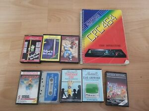 Amstrad CPC 464 User Instructions And Games Software