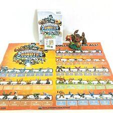 Nintendo Wii Skylanders Giants Game Wii w/ Tree Rex Collectable Poster
