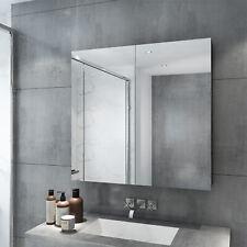 750x720mm Bathroom Vanity Mirror Cabinet Wall Hung Shaving Storage Cupboard