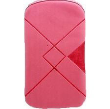 Funda Rosa de Terciopelo para Telefono Movil iPhone 4G 3G 3Gs 4S y otros 2184