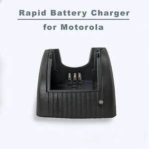 Universal Rapid Battery Charger for Motorola Radio NNTN4851 4496 4497 4970 CP200