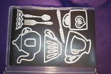 Stampin' Up CUPS AND KETTLE retired complete Sizzix Dies