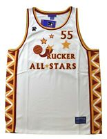 Stall & Dean Mens Rucker All-Stars Basketball #55 Sewn Jersey NWT 56 (3XL)