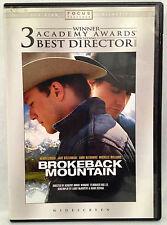 Brokeback Mountain (Widescreen DVD) Heath Ledger, Jake Gyllenhaal, Anne Hathaway