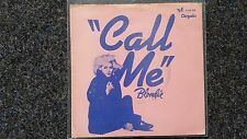 Blondie - Call me 7'' Single PORTUGAL