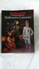 Singer Holloween Costume Sewing Book, Colored Illustrations, Very Good Condition