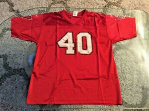 Tampa Bay Buccaneers Mike Alstott Red Jersey Kids Extra Large XL 18-20 Reebok