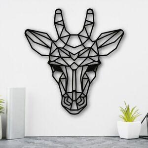 Giraffe Head Geometric Wall Hanging Art Living room Bedroom Decor large size