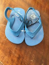 Brand New Baby/infant Size 4 Blue Flip Flops