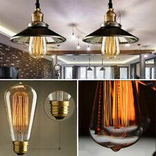 220V 40W E27 Filament Light Bulbs Vintage Decor Industrial Style Lamp Eddison