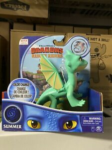 """NEW How to Train Your Dragon Dragons Rescue Riders 7"""" Figure color change SUMMER"""