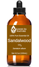 Sandalwood Essential Oil CO2 100% Pure Natural Aromatherapy Good In Nature Large