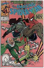 The Amazing Spider-Man #336 Aug. '90 NM- Sinister Six Erik Larsen Cover