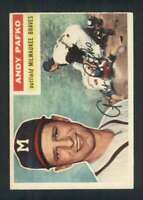 1956 Topps #312 Andy Pafko EX+ Braves 83813
