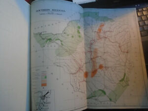 1949 Southern Rhodesia Colour Map, Salisbury