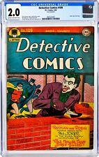 Detective Comics #109 CGC 2.0 C-OW - 3/1946 Golden Age Batman Joker Cover/Story