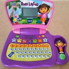 Nickelodeon vtech Dora the Explorer Boots kid vocabulary Learning Laptop NEW