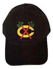 NHL Chicago Blackhawks Slouch Adjustable Cap Snapback Hat