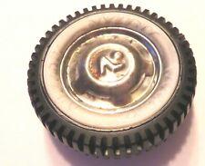 """Nylint vintage original tire with N in hub 2 """" diameter"""