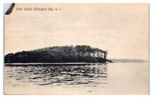 Early 1900s Duck Island, Centerport Bay, Long Island, NY Postcard