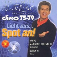 Ilja Richter präsentiert Disco 75-79 Harpo, Clout, M, Boney M., David Dun.. [CD]