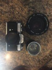 Minolta XD11 Camera 35mm SLR with Lens