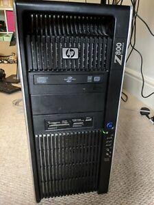 HP Workstation Z800 (2x X5675 CPU, 48 GB RAM, 240GB SSD, 1.5TB HDD) Windows 10