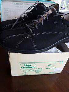 Finn comfort UK 7, US 9 1/2, 40,5  Leder schwarz NEU  169,90 EUR