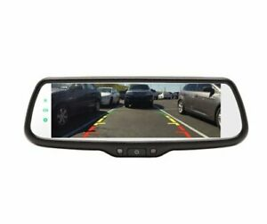 "Crimestopper MIR-007 Universal Dual 3.5"" LCD Rear View Mirror Monitor System"