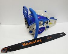 "BLUE Ghoubis Gasoline / Petrol Chain Saw 3 H.P./ 2.5KW / 58CC / 22"" (China)"