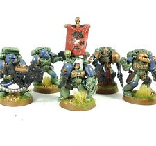 Warhammer 40k Ejército Marines Espaciales Espacio Lobos 5 Man Squad Pintada
