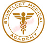 Starfleet Medical Academy Medic Emblem Vinyl Decal Window Sticker Car