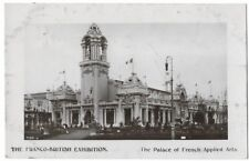 Franco-British Exhibition, London 1908 Postcard - Palace of French Applied Arts