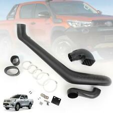 Kit Set Black Off Road Snorkel For Toyota Hilux Revo 4x4 SR5 M70 M80 2015 2017