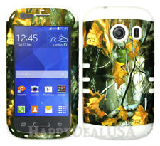 For Samsung Galaxy Ace Style S765c KoolKase Hybrid Cover Case - Camo Mossy 04
