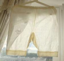 Nos Vintage White Panties Pantaloons L-Xl