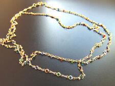 Modeschmuck-Halsketten & -Anhänger aus Messing mit Kristall für Damen