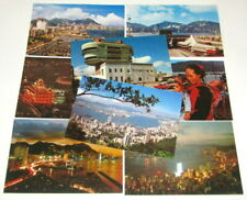More details for old colour postcards lot, hong kong scenes, victoria, night scenes etc.