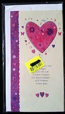 """F38) Carte """"Amour à deux"""" + enveloppe - Neuf -"""
