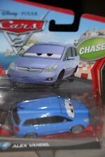 "DISNEY PIXAR CARS 2 ""ALEX VANDEL"" CHASE, NEW IN PACKAGE, SHIP WORLDWIDE"
