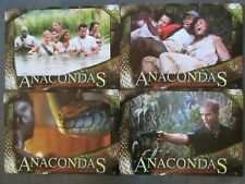 ANACONDAS - 8 Aushangfotos - Dwight H. Little - HORROR - Schlangen