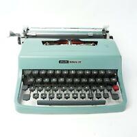 Olivetti Lettera 32 Typewriter and case