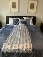 Chinese silk duvet cover queen with three pillow covers and 2 cases