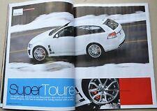 Wheels Oct 2008 HSV Clubsport R8 Tourer Ford G6E Turbo Lotus Elise Audi TTS FPV