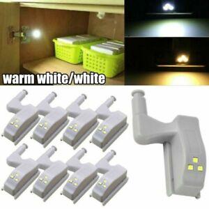 LED Lamp Cabinet Hinge Smart Touch Sensor Night Light