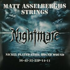 Pyramid Matt asselsberghs strings. 011 - .056 Nickel Plated Steel e-corde chitarra