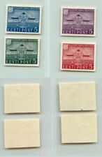 Estonia 1938 SC 144-147 MNH imperf . f3179