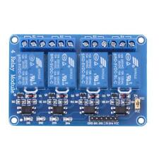 5V Four 4 Channel Relay Module w/ optocoupler for PIC AVR DSP ARM Arduino 8051